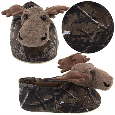 Realtree Moose Slippers for Men