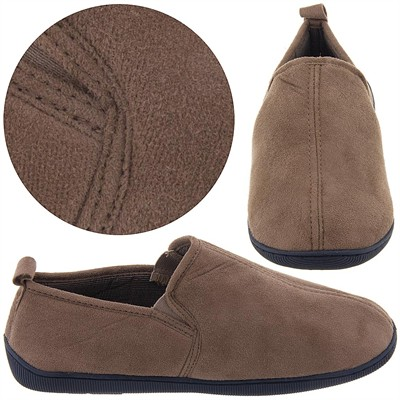 Perry Ellis Portfolio Coffee Slippers for Men