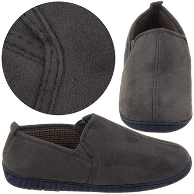 Perry Ellis Portfolio Olive Slippers for Men