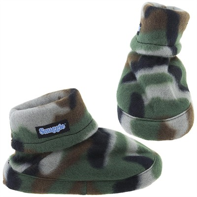 Snuggie Camo Fleece Slippers for Men