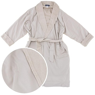 Natural Spa Robe for Bathrobe