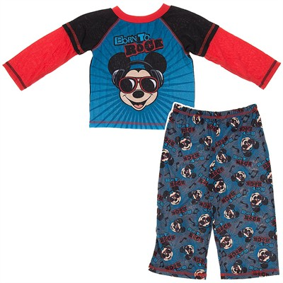 Mickey Mouse Born to Rock Pajamas for Toddler Boys