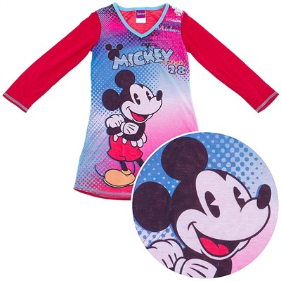 Mickey Mouse Red Nightgown for Girls