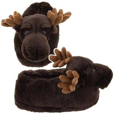 Moose Slippers for Women