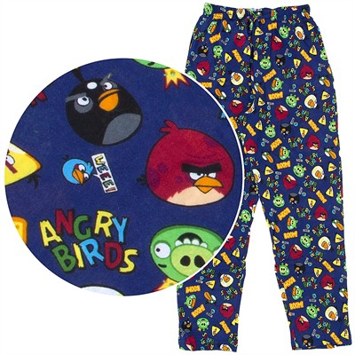Angry Birds Blue Pajama Pants for Men