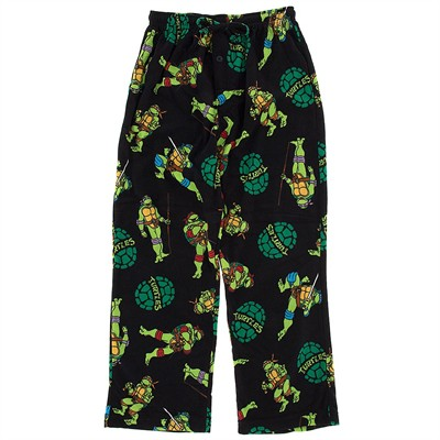 Teenage Mutant Ninja Turtles Fleece Pajama Pants for Men