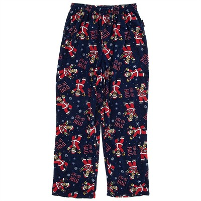 Simpsons Christmas Fleece Pajama Pants for Men
