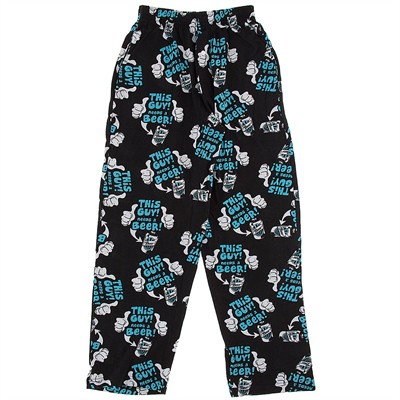 Fun Boxers Need a Beer Pajama Pants for Men