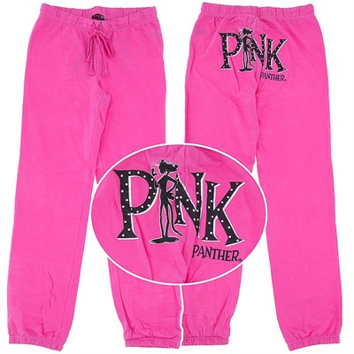 Pink Panther Pink Pajama Pants for Juniors