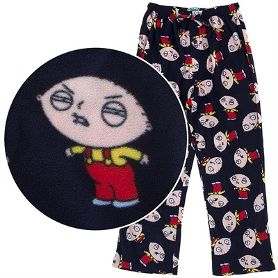 Stewie Fleece Pajama Pants for Men