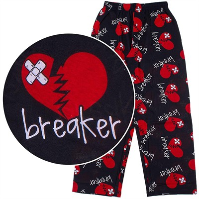Fun Boxers Heart Breaker Pajama Pants for Men