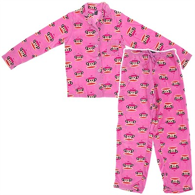 Paul Frank Pink Fleece Pajamas for Women