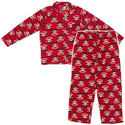 Paul Frank Red Fleece Pajamas for Women