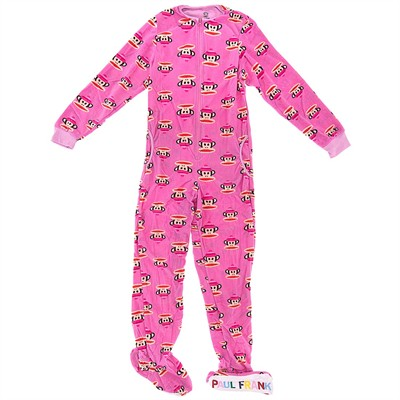 Paul Frank Pink Footed Pajamas for Women