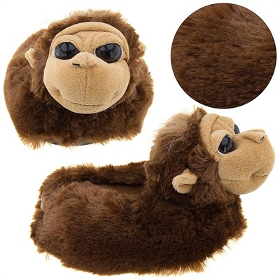 Orangutan Animal Slippers for Kids