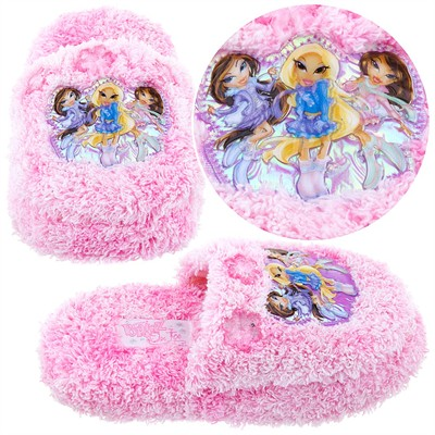 Pink Bratz Slippers for Girls