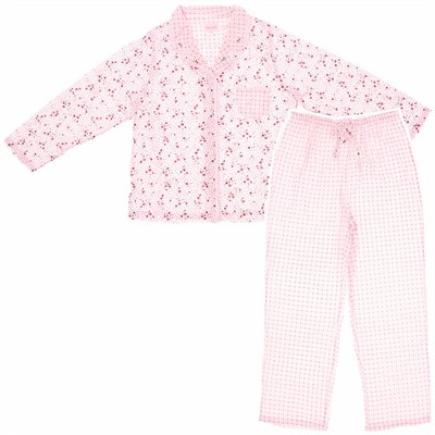 Pink Rose Plus Size Pajamas for Women