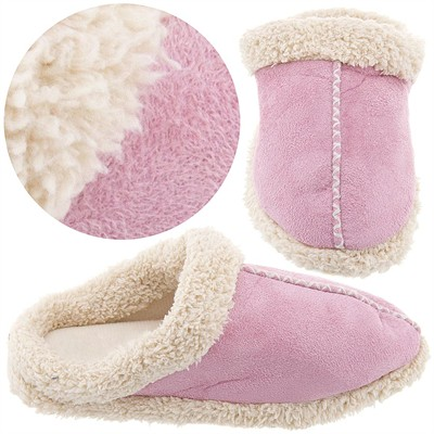 Pink Clog Style Slippers for Women