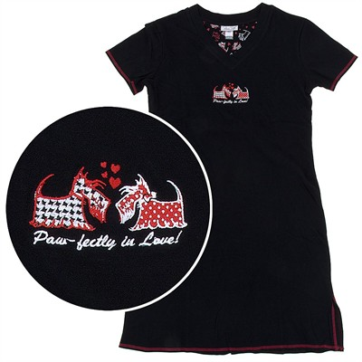 Paw-Fectly in Love Nightshirt for Women