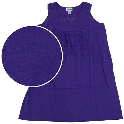 Purple Plus Size Nightgown for Women