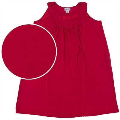 Red Plus Size Nightgown for Women