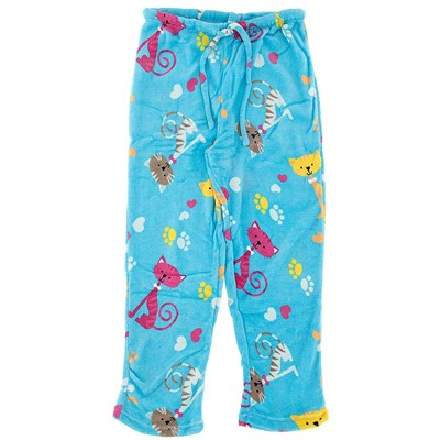 Cat Plus Size Pajama Pants for Women