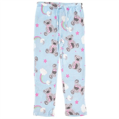 Teddy Bear Plus Size Pajama Pants for Women