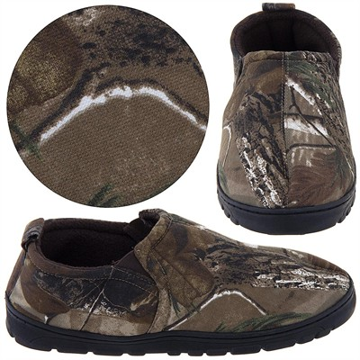 Realtree Camo Slip On Slippers for Men