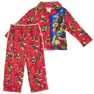 Teenage Mutant Ninja Turtles Red Coat Style Pajamas for Boys