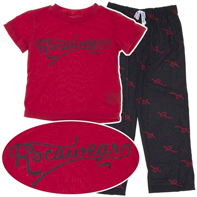 Rocawear Red and Black Pajamas for Boys