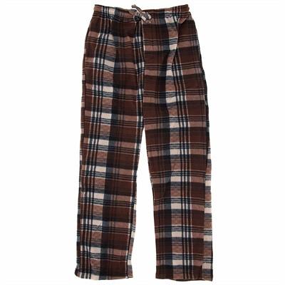 Brown Fleece Lounge Pajamas for Men