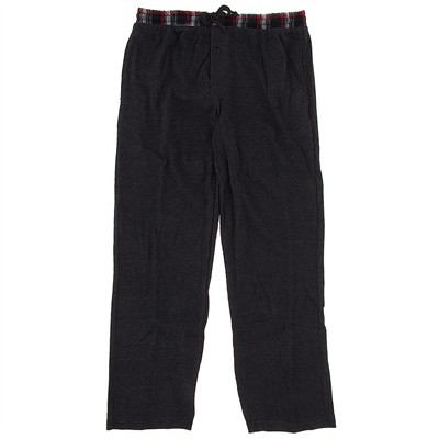 Dark Gray Thermal Lounge Pants for Men