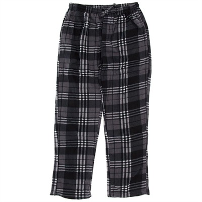 Gray Fleece Lounge Pajamas for Men