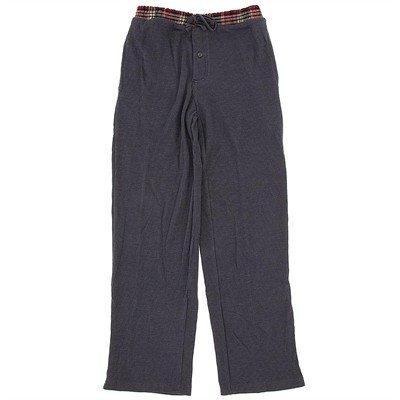 Gray Thermal Lounge Pants for Men
