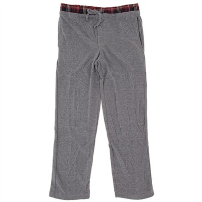 Light Gray Thermal Lounge Pants for Men