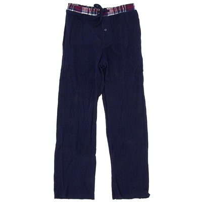 Navy Thermal Lounge Pants for Men