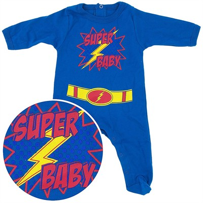 Super Baby Cotton Footie for Baby Boys