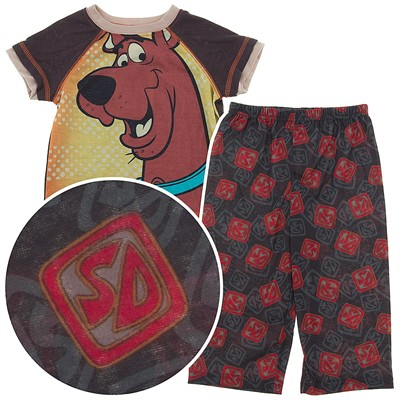 Scooby Doo Pajamas for Toddler Boys