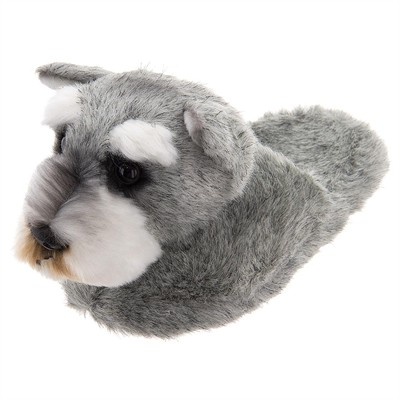 Schnauzer Animal Slippers for Kids