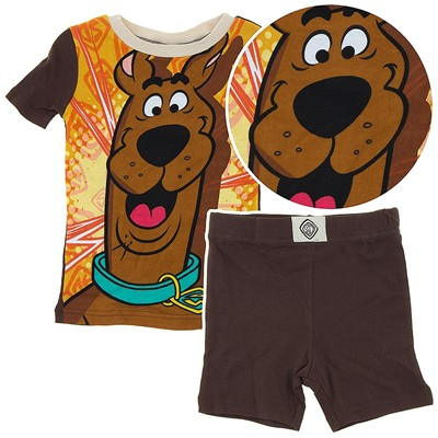 Scooby Doo Cotton Shorty Pajamas for Boys