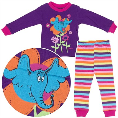 Horton Hearts a Who Cotton Pajamas for Baby and Toddler Girls