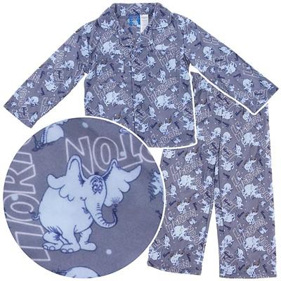 Dr. Seuss Horton Hears a Who Coat-Style Pajamas for Boys