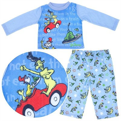 Green Eggs and Ham Pajamas for Baby Boys