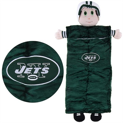 Jets Mascot Sleeping Bag for Kids