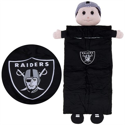 Raiders Mascot Sleeping Bag for Kids