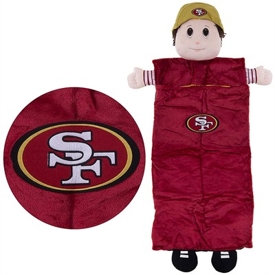 San Francisco 49ers Mascot Sleeping Bag for Kids