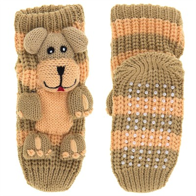 Puppy Dog Slipper Socks for Kids