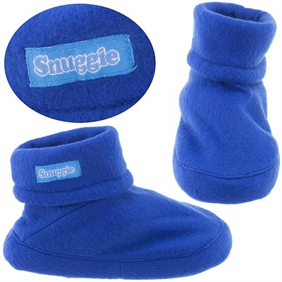 Snuggie Blue Slippers for Kids