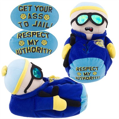 Mens Cartman Slippers ( From South Park)