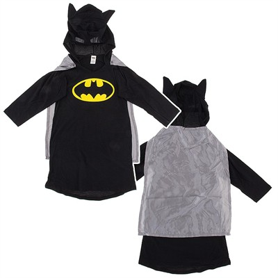 Batman Nightgown with Cape and Hood for Juniors